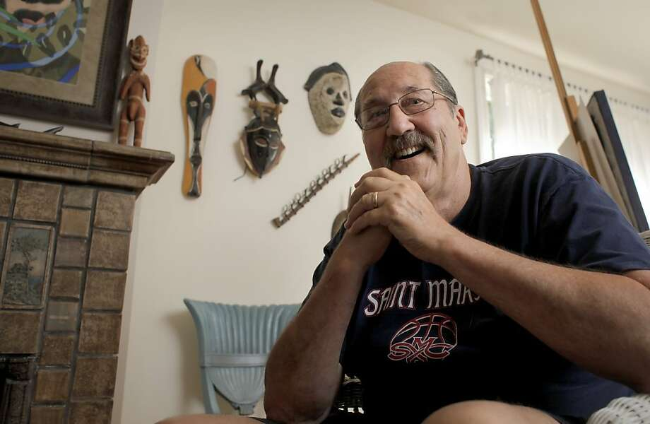Tom Meschery sits at  his home, Wednesday July 27, 2011, in Alameda, Calif. Meschery was an all-star forward for the Warriors from 1961 through 1971. Now he is a author of poetry books and is working on his memoirs. Photo: Lacy Atkins, The Chronicle