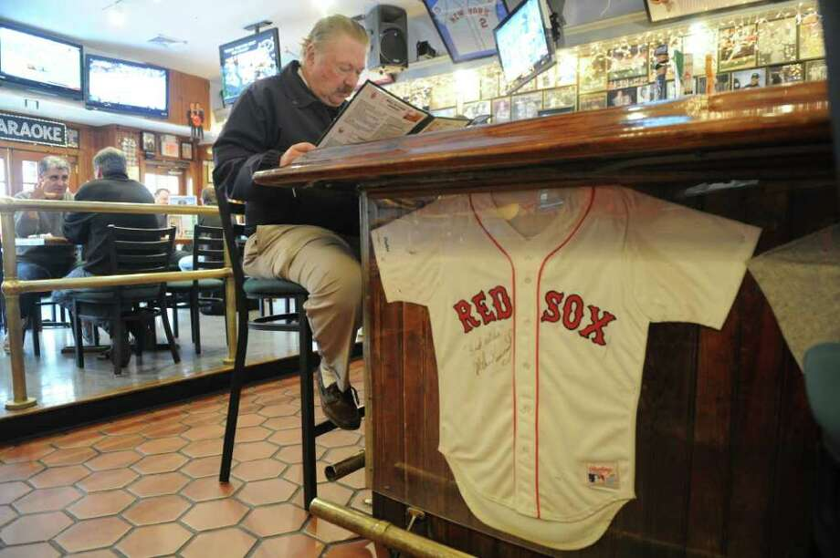 George Matson dines at Bobby Valentine's in Downtown Stamford, Conn., November 30, 2011. Though Matson was hoping that Valentine took the helm at the Mets rather than the Red Sox, he is thrilled Valentine will be back to the sport of baseball. Photo: Keelin Daly