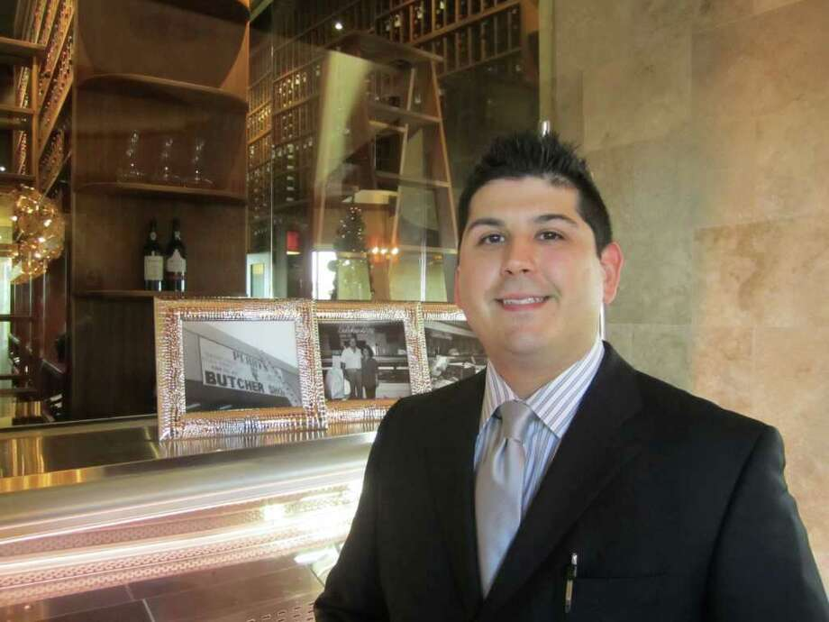 Jeremiah Garcia, Perry's Steakhouse & Grill Photo: Jessica Elizarraras