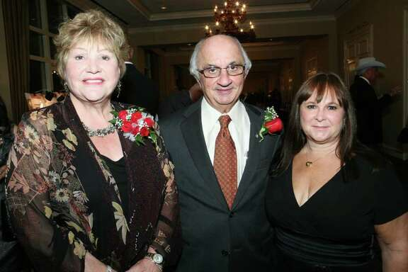 OTS/HEIDBRINK - Lana Duke (Supporter), Harvey Najim (Honoree) and Gloria Kelly (CEO) were at the Roy Maas Youth Alternatives gala on 11/12/2011 at the Westin Riverwalk Hotel. names checked photo by leland a. outz