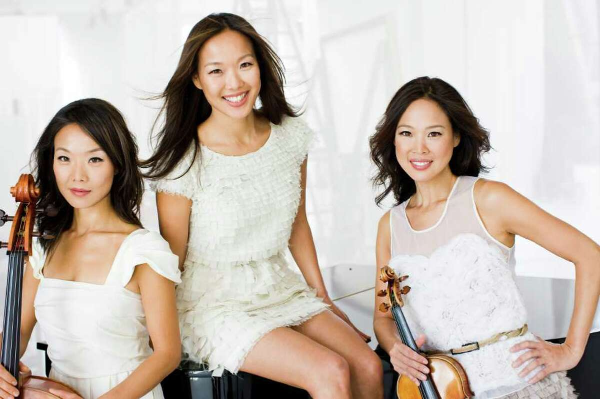 The Ahn Trio -- three sisters who were born in Seoul, Korea -- are classical musicians on a mission. The trio performs Sunday, Dec. 4, at 3 p.m. at Fairfield University's Regina A. Quick Center.