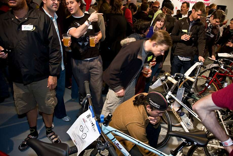 Partygoers at Winterfest 2008. Photo: Chris Brennan