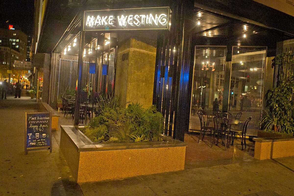 The exterior of Make Westing bar in Oakland, Calif., is seen on Tuesday, November 29, 2011.