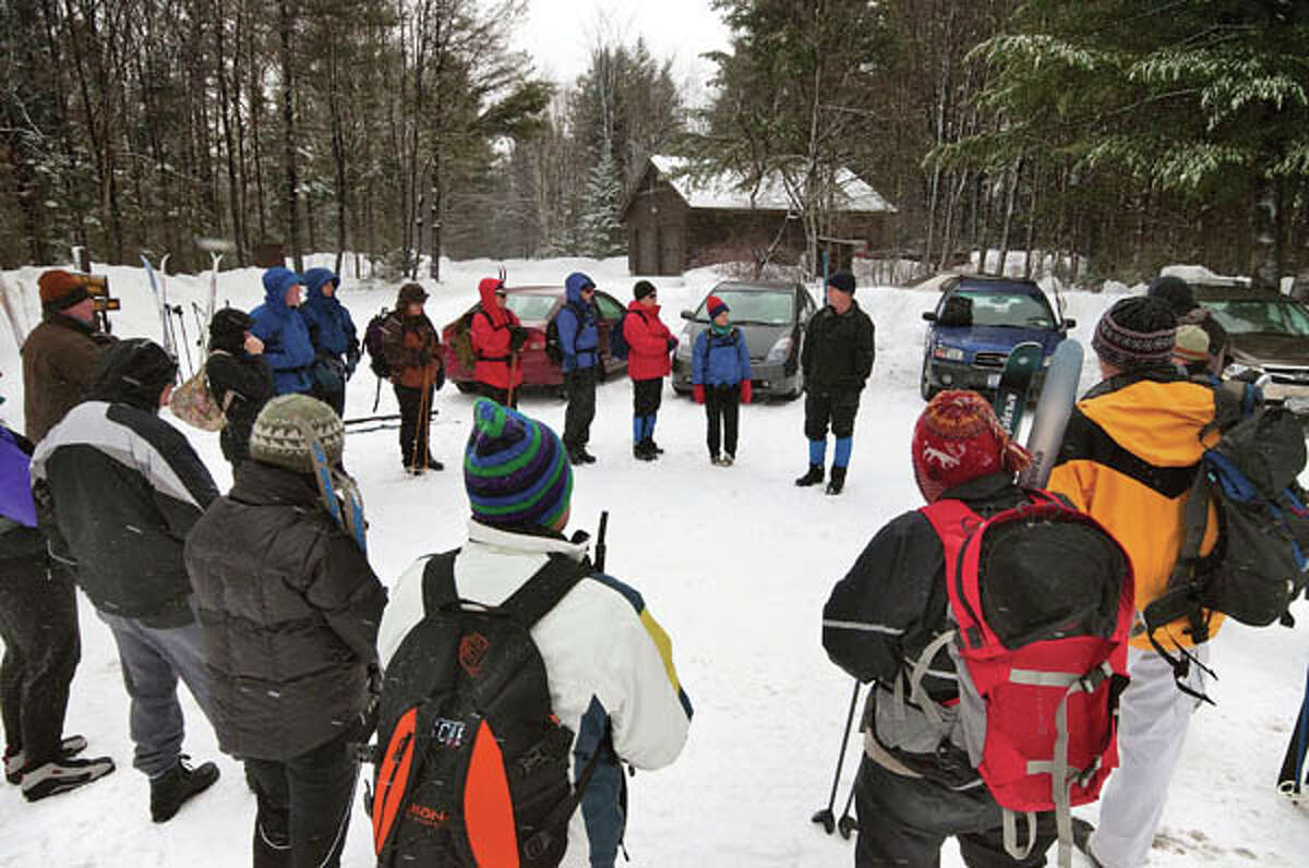 Trails and Tales at Camp Santanoni (Photo by Carl Heilmann II)