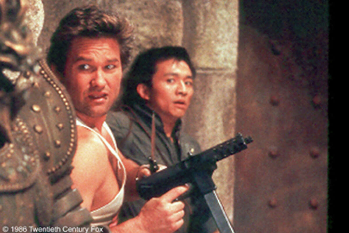 A scene from the film Big Trouble in Little China.