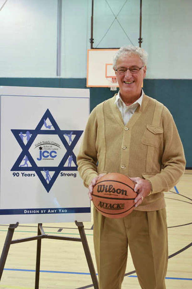 Supreme Court Justice Barry Kramer stands at the Schenectady JCC where his love for basketball was discovered. (Photo by Colleen Ingerto/Explore)