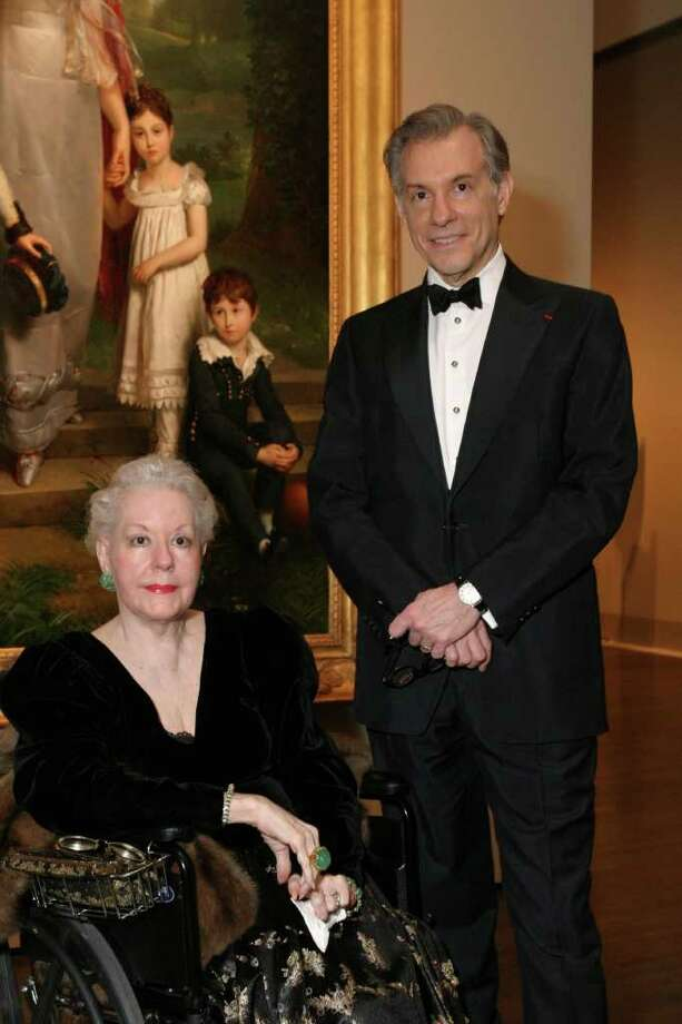 courtesy photo texas roots: Gary Tinterow and his mother, Dariece W. Tinterow, attended an MFAH exhibit opening in 2007. Photo: Courtesy Photo