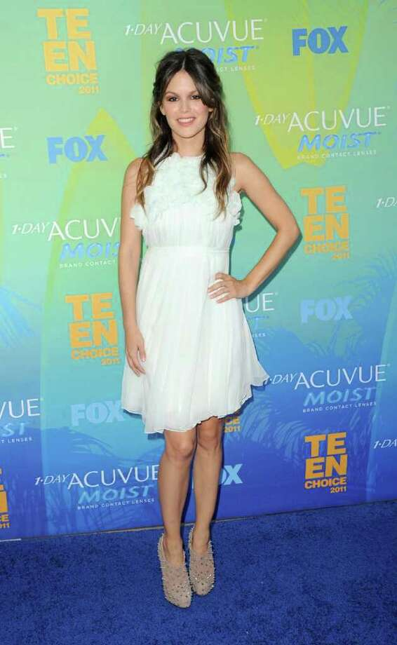 UNIVERSAL CITY, CA - AUGUST 07:  Actress Rachel Bilson arrives at the 2011 Teen Choice Awards held at the Gibson Amphitheatre on August 7, 2011 in Universal City, California. Photo: Jason Merritt, Getty Images / 2011 Getty Images