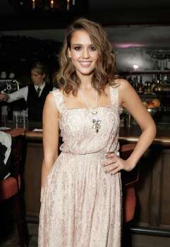 24. Actress Jessica Alba (The Fantastic Four, Sin City) Photo: Todd Williamson, Getty Images For SWAROVSKI / 2011 Getty Images