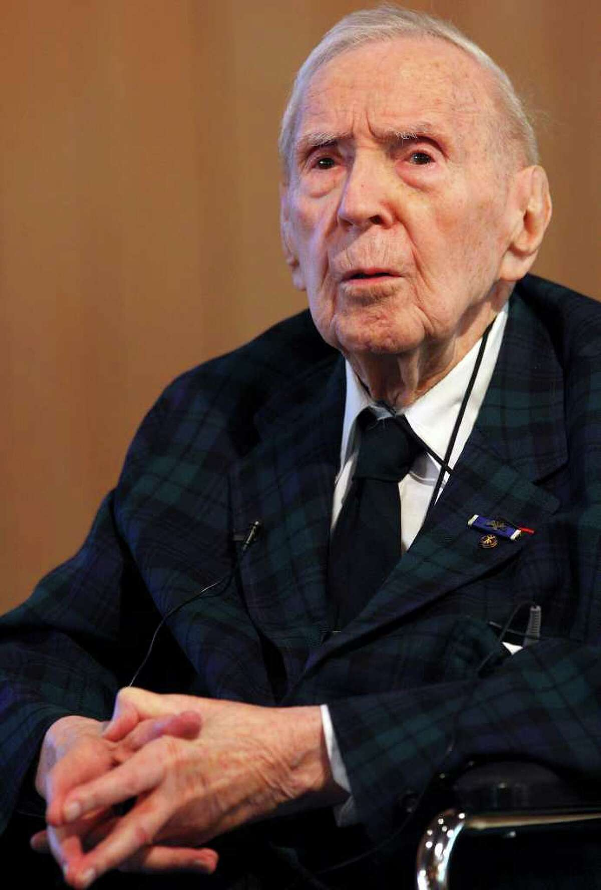 A reader was heartened to see on the Express-News Happy Birthday list Nov. 30 that esteemed educator-historian Jacques Barzun turned 104.