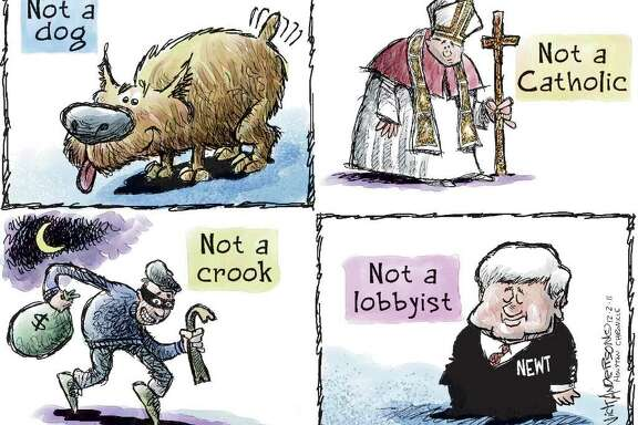 Newt Not a Lobbyist