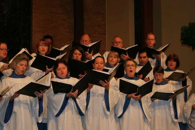 St. Luke's Episcopal Church Parish Choir Photo: Courtesy Photo
