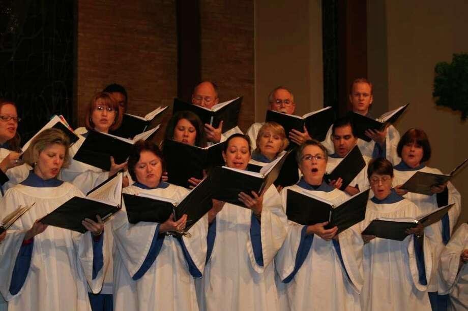 St. Luke's Episcopal Church Parish Choir Photo: Courtesy Photo