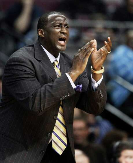 The lockout-shortened season may leave little time for Jazz coach Tyrone Corbin to leave his mark on a team largely defined by longtime coaching icon Jerry Sloan. Photo: AP