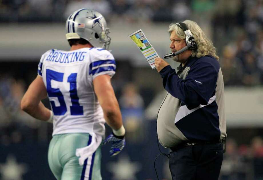 TONY GUTIERREZ: ASSOCIATED PRESS BIGGER PLANS?: Cowboys defensive coordinator Rob Ryan might soon be headed for a head coaching spot. Photo: Tony Gutierrez / AP