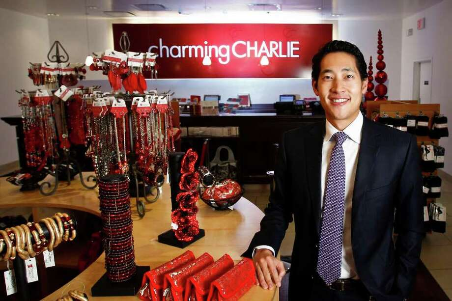 Michael Paulsen Photos : Chronicle LISTENING: Charlie Chanaratsopon, CEO of Charming Charlie, isn't afraid to tweak his jewelry and accessories stores' concept. Based on customer feedback, the stores now group merchandise by color rather than by category. Photo: Michael Paulsen / © 2011 Houston Chronicle