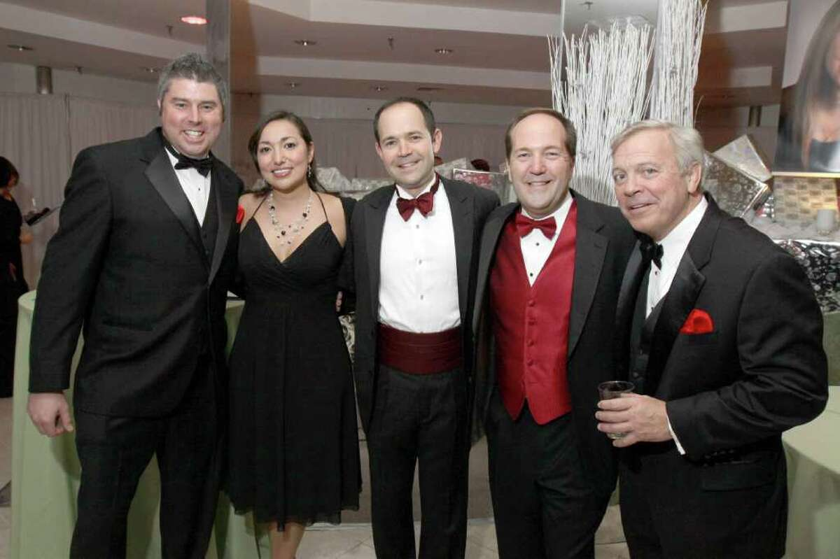 Were you Seen at Dancing in the Woods to benefit the Center for Childhood Cancer and Blood Disorders at the Children's Hospital at Albany Medical Center on Friday, Dec. 2, 2011?