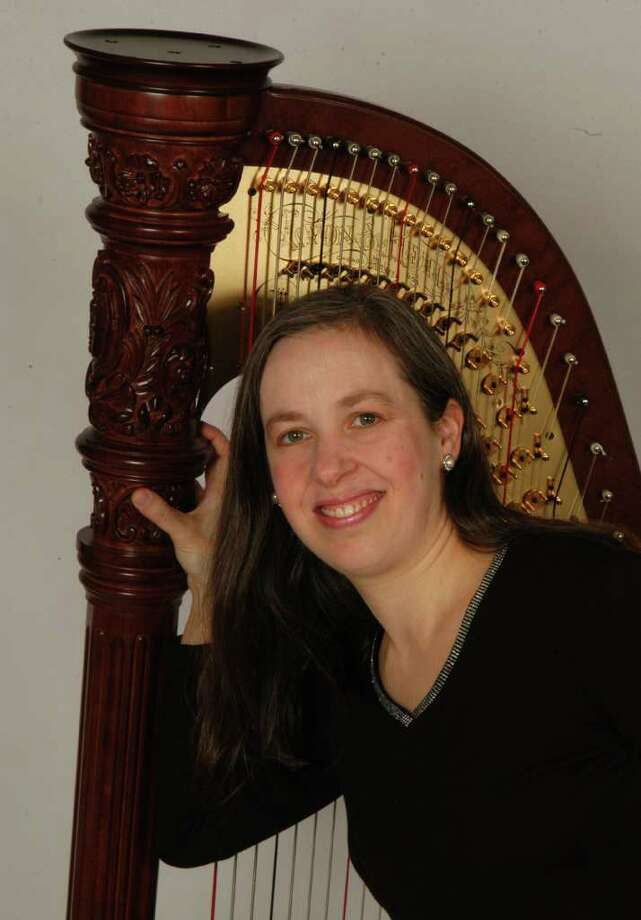 Harpist Wendy Kerner-Lucas will play at the AAUWís holiday brunch Thursday, Dec. 8. Photo: Contributed Photo