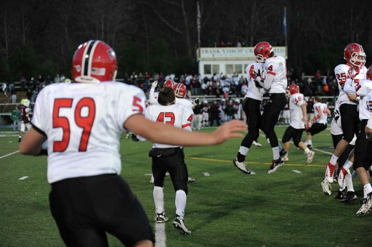 New Canaan vs. Windsor Saturday, Dec. 3, 2011 in the Class L seminfinal game at East Haven High School in East Haven, Conn.