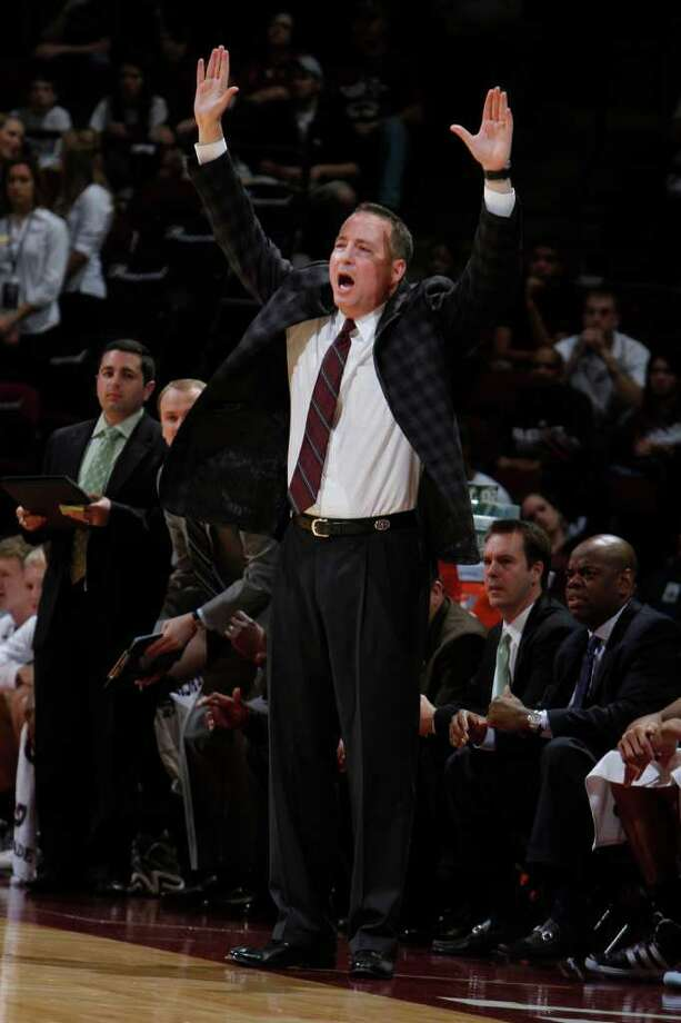 Texas A&M coach Billy Kennedy, whose team is 7-1, is feeling much better these days despite the Parkinson's diagnosis. Photo: Associated Press