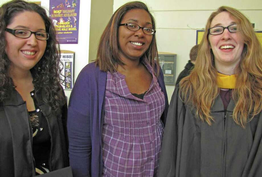 Were you Seen at the UAlbany winter commencement on Sunday, Dec. 4? Photo: Anne-Marie Sheehan
