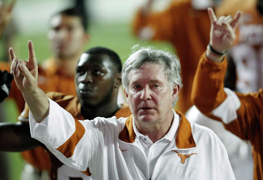 Mack Brown will earn $6 million in 2020 with his extension. Photo: Eric Gay, ASSOCIATED PRESS / AP2011