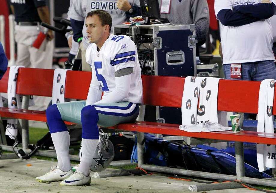 Cowboys kicker Dan Bailey missed two of his three field-goal attempts last week against Arizona, including the game-winner in overtime. Photo: AP