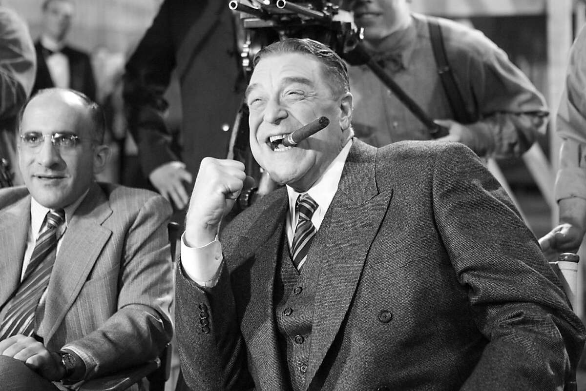 John Goodman as Al Zimmer in Michel Hazanavicius's film THE ARTIST