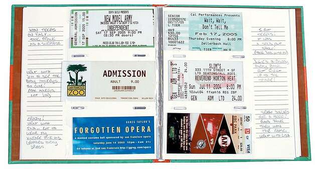 A Ticket Stub Diary, for a performance loving host, will be appreciated long after your guest appearance. Photo: Chronicle Books
