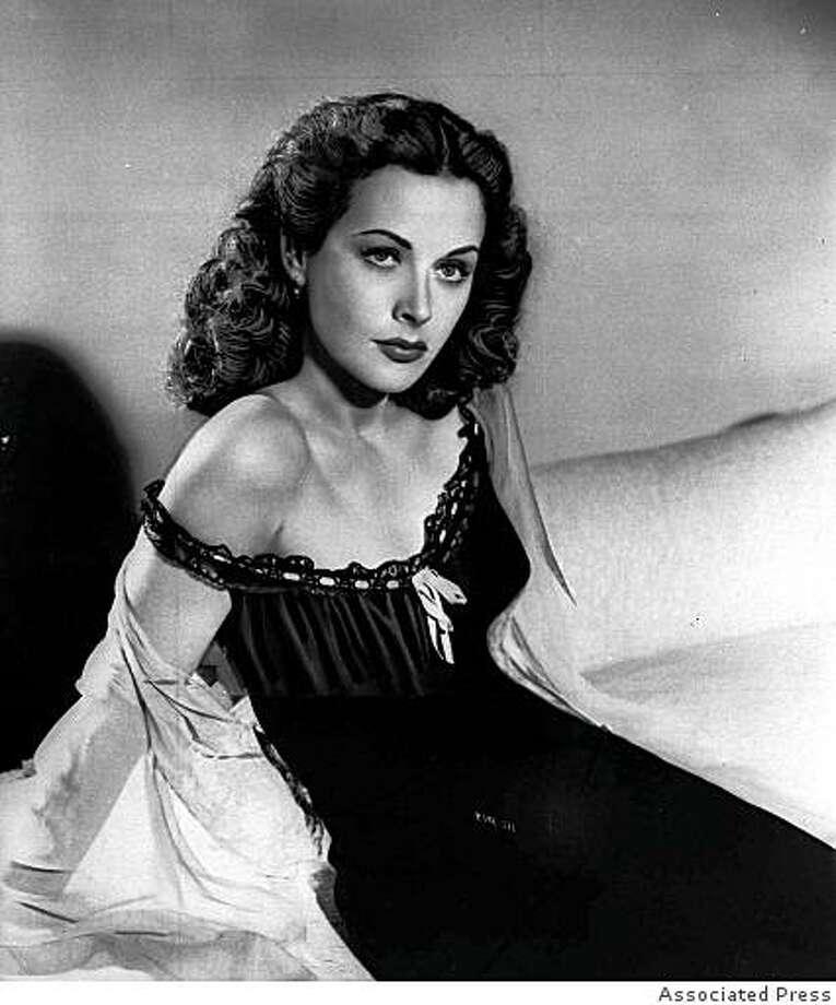 Hedy Lamarr in 1946. Photo: Associated Press