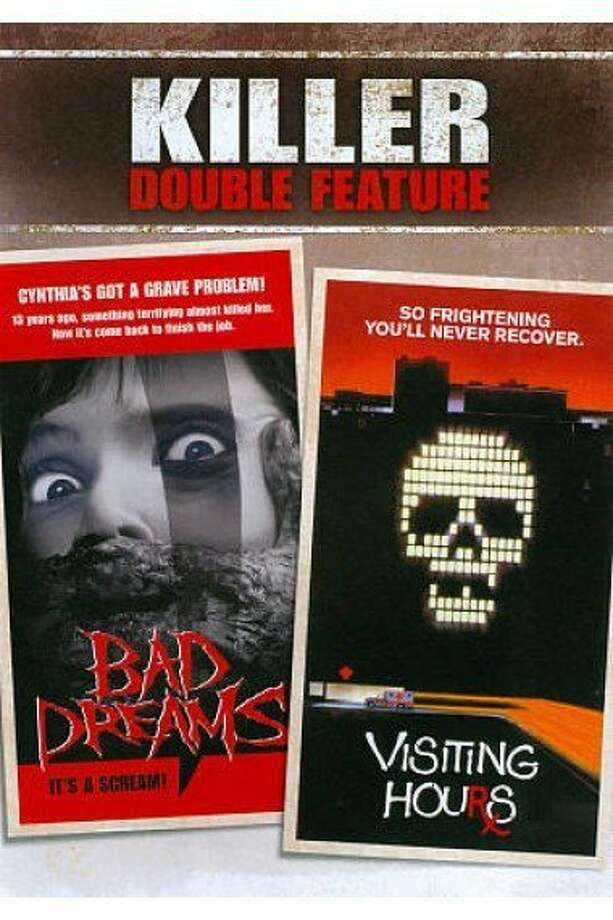 dvd cover BAD DREAMS/VISITING HOURS Photo: Shout Factory
