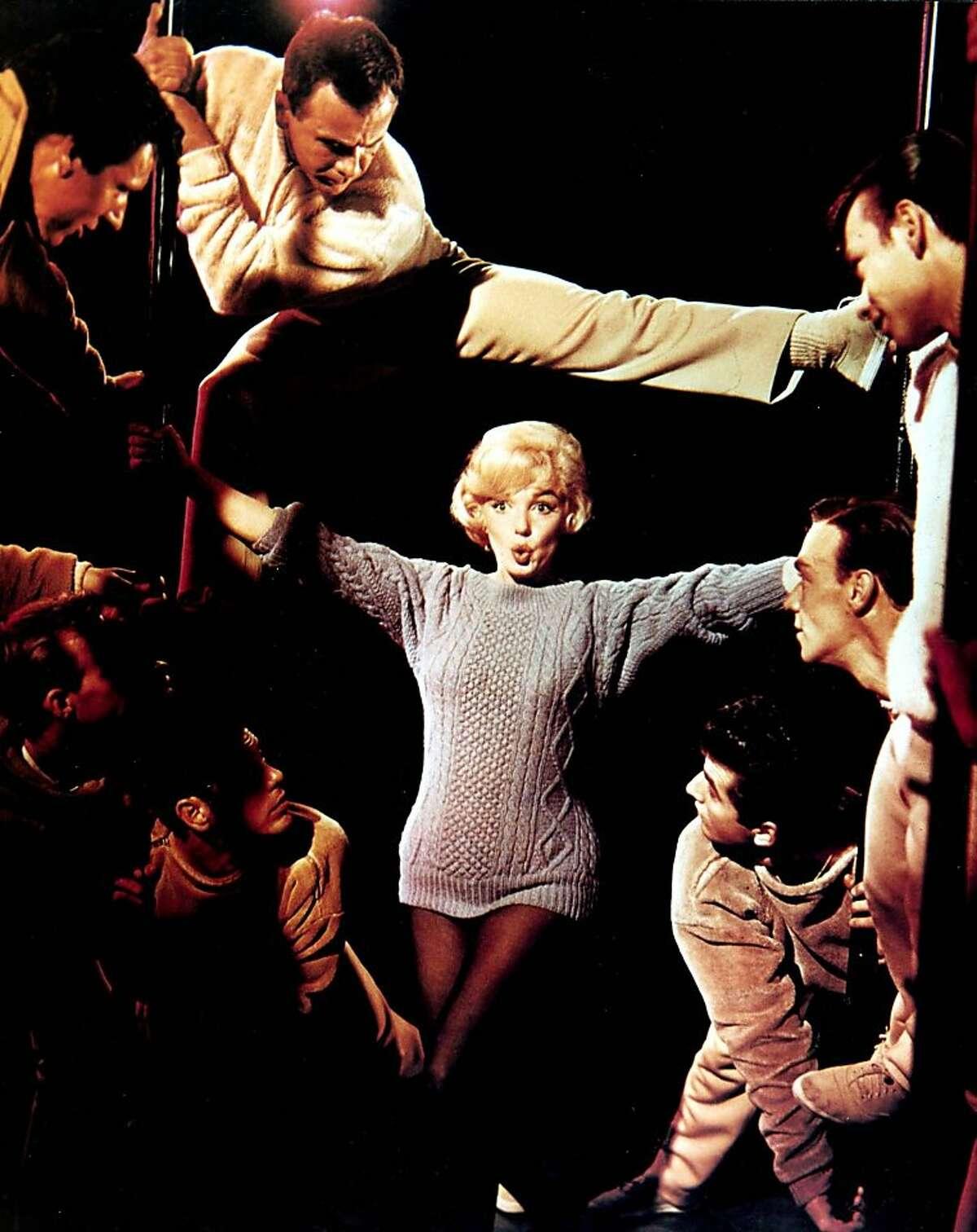 "Marilyn Monroe in ""Let's Make Love."""