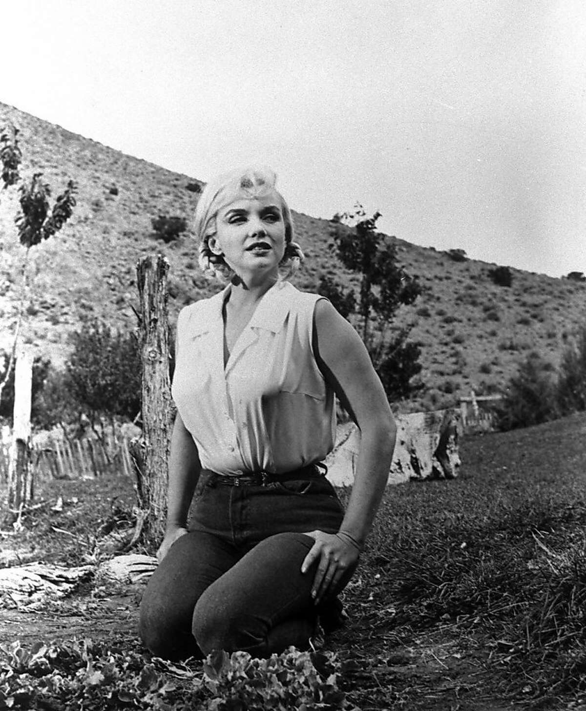 """Marilyn Monroe in """"The Misfits"""