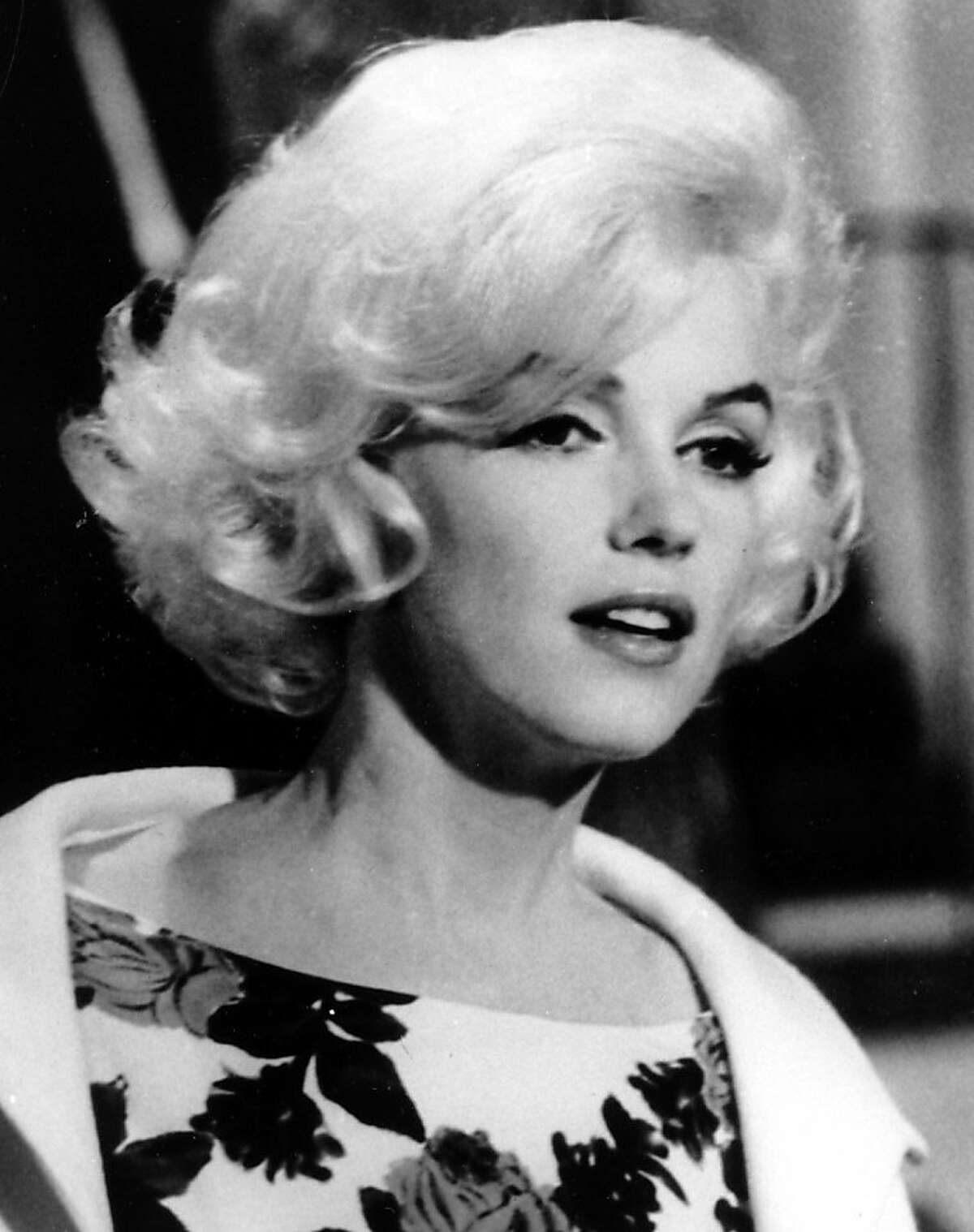 """FILE - Actress Marilyn Monroe is shown on the set of her last movie, """"Something's Got To Give,"""" in Los Angeles in this April 1962, file photo. (AP Photo, file) Ran on: 04-30-2010 Marilyn Monroe on the set of her last movie."""