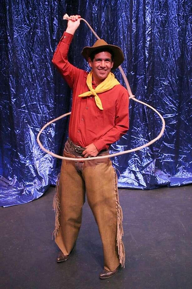 "Alex Perez plays Will Rogers in Hillbarn Theatre's ""The Will Rogers Follies"" Photo: Nancy Fitzgerald-Metzler"