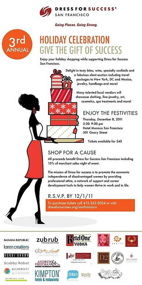 Dress For Success invitation. Photo: Dress For Success