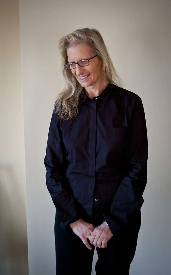 """Photographer Annie Leibovitz, seen on Tuesday, Nov. 22, 2011 in San Francisco, Calif., has just released a new book, """"Pilgrimage."""" Photo: Russell Yip, The Chronicle"""