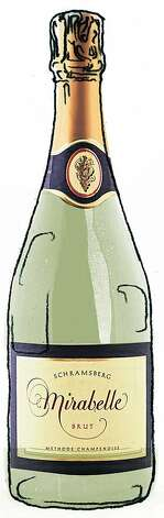 NV Schramsberg Mirabelle North Coast Brut  ###Live Caption:NV Schramsberg Mirabelle North Coast Brut as seen in San Francisco, California, on October 26, 2011.###Caption History:NV Schramsberg Mirabelle North Coast Brut as seen in San Francisco, California, on October 26, 2011.###Notes:###Special Instructions:MANDATORY CREDIT FOR PHOTOG AND SF CHRONICLE/NO SALES-MAGS OUT-INTERNET__OUT-TV OUT   Magazine#Magazine#SundayMagazine#12/04/2011#ALL#Advance1##0504438430 Photo: Val B. Mina, The Chronicle