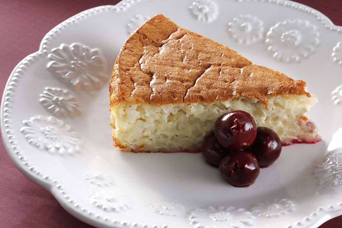 """""""Hungarian inspired Rice Cake"""" from Boulette's Larder as seen in San Francisco, California, on Tuesday, November 22, 2011. Food styled by Sunny Liu."""