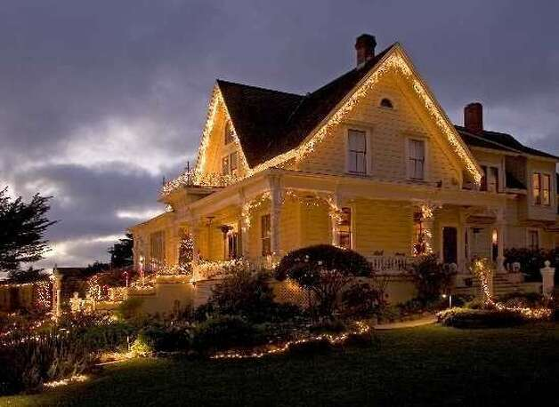 The MacCallum House in Mendocino is featured in the Mendocino Inn Tour,  Dec. 8-11, 2011. Photo: Rita Crane
