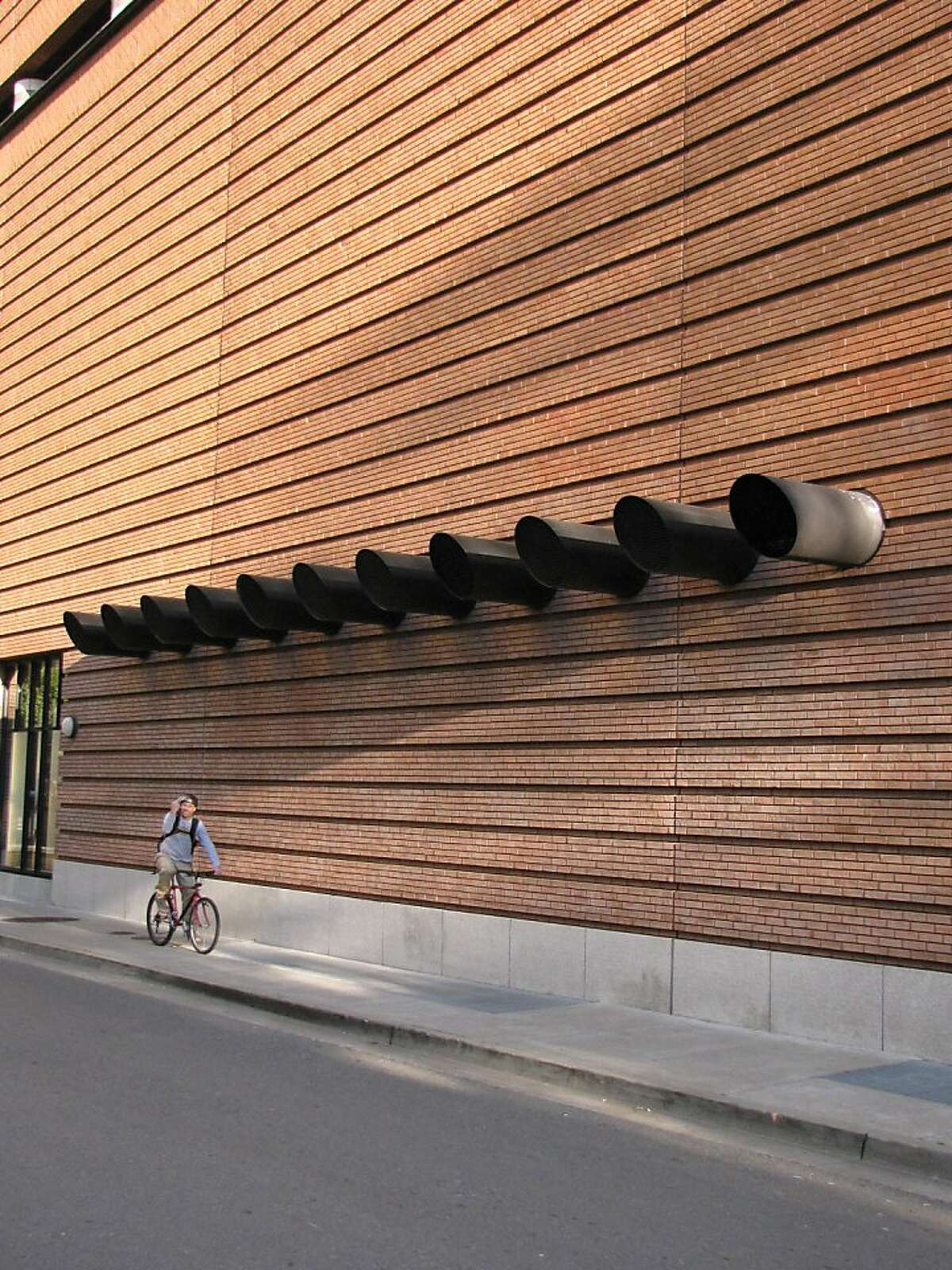 The San Francisco Museum of Modern makes a powerful impression, even if you never go inside.