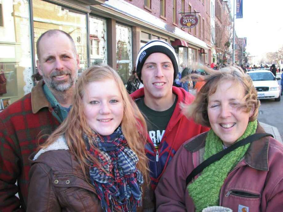 Were you Seen at the Troy Victorian Stroll on Sunday, Dec. 4, 2011? Photo: Kristi Gustafson Barlette/Times Union