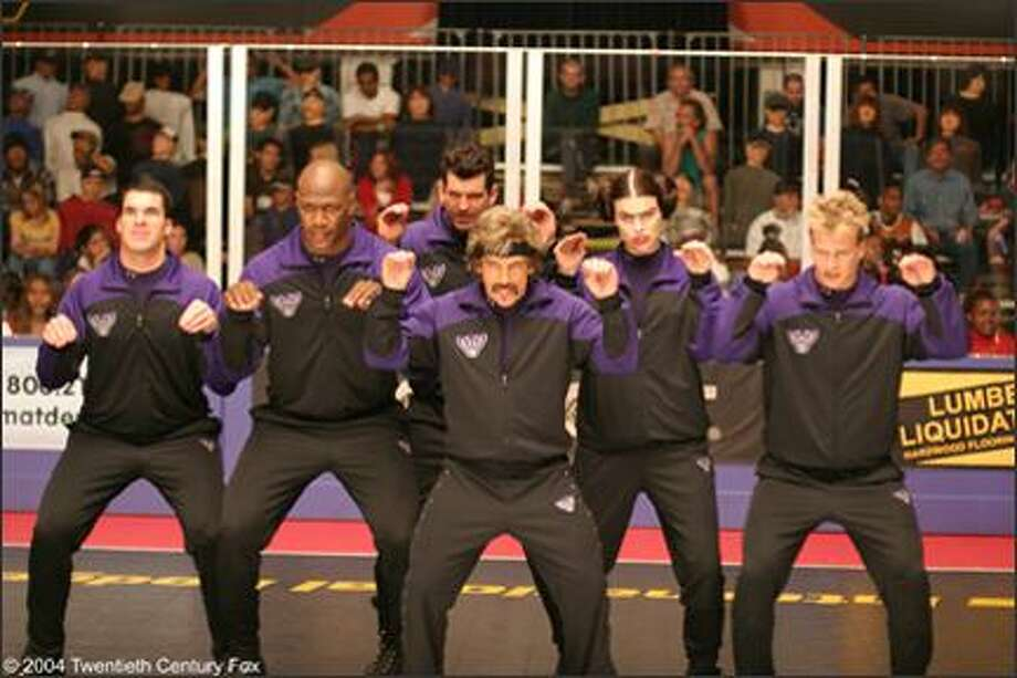 "The Purple Cobras from ""Dodgeball: A True Underdog Story"""