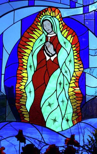 The Virgen De Guadalupe Stained Glass Window Friday Dec