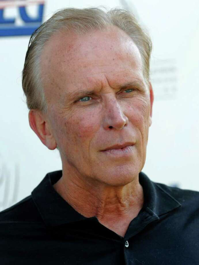 """FILE - In this Sept. 15, 2008 file photo, actor Peter Weller poses before the Academy of Television Arts & Sciences and AEG's 9th Annual Celebrity Golf Classic  in Los Angeles. Weller is joining the cast of the """"Star Trek"""" sequel from director J.J. Abrams.  (AP Photo/Chris Pizzello, file) Photo: Chris Pizzello"""