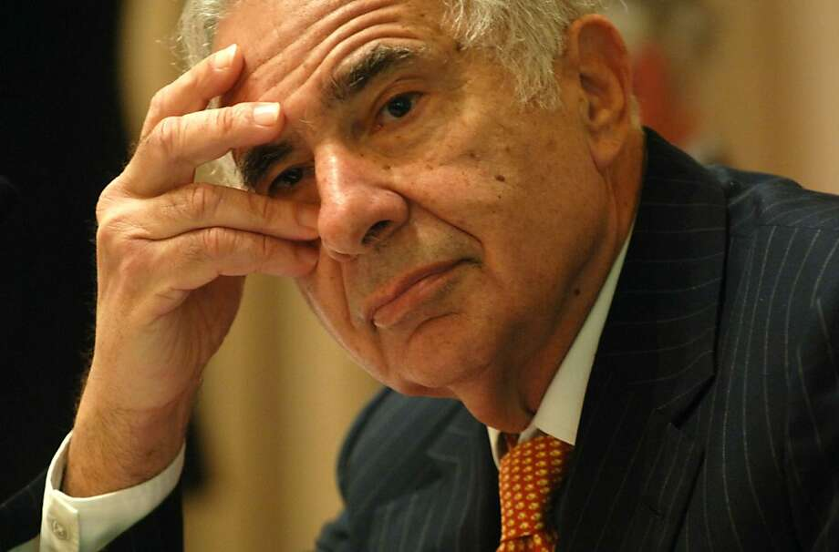 No longer the target of a proxy contest, Yahoo Inc.'s annual shareholder meeting on Friday still promises to be heated. Shown: investor Carl Icahn. Billionaire investor Carl Icahn listens during an announcement of The Lazard Report in New York Tuesday, February 7, 2006.  The report recommends forming separate companies for America Online, Time Warner Cable, the publishing unit, and film and TV networks, as well as buying back $20 billion in stock.  Photographer: Daniel Acker/Bloomberg News (best photo) Ran on: 07-31-2008 Billionaire investor Carl Icahn decided to end his proxy contest for Yahoo in return for control of three seats on an 11-seat board.   Ran on: 07-24-2011 Investor Carl Icahn raised his bid for Clorox after the Oakland company turned down his first offer. Photo: Daniel Acker Daniel Acker, Bloomberg News BLOOMBERG NEWS