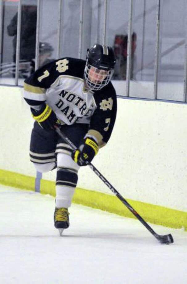 Notre Dame-Fairfield's Christian LaCroix had 21 points in 2010-11 and will return for the Lancers in 2011-12. Photo: File Photo