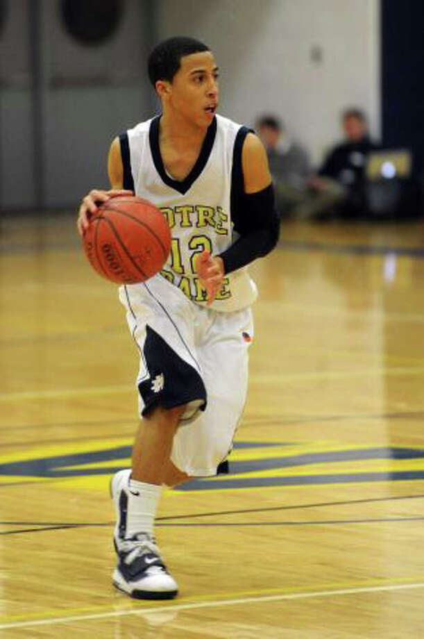 Notre Dame-Fairfield's Tre McPherson will be one of the Lancers' captains in 2011-12. Photo: File Photo