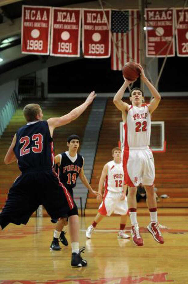 Fairfield Prep's Terry Tarpey will be the Jesuits' top-returner in 2011-12. Photo: File Photo