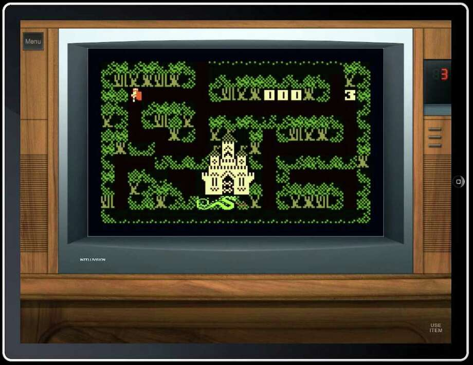 """The Intellivision app allows gamers to play the classic game """"Thunder Castle"""" on an iPad (pictured) or iPhone. Photo: Intellivision Productions"""